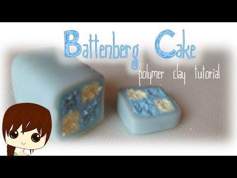 Battenberg Cake Tutorial    polymer clay
