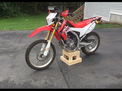 LaBelle Wooden Dirtbike Stand