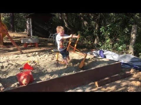 Kids get a Sandbox