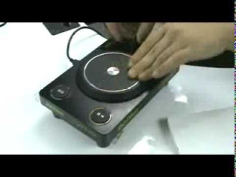 DJ TECH VTT 101 SCRATCH Close Up