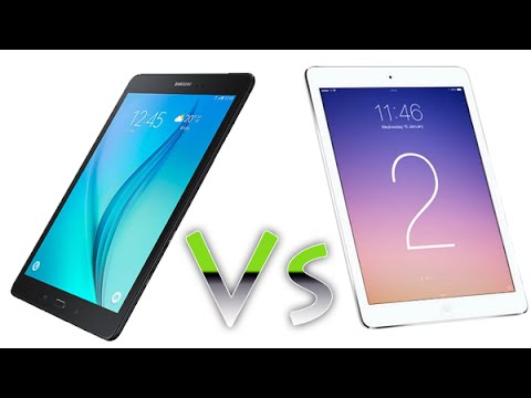 Galaxy Tab A 9 7 vs iPad Air 2 - Comparison