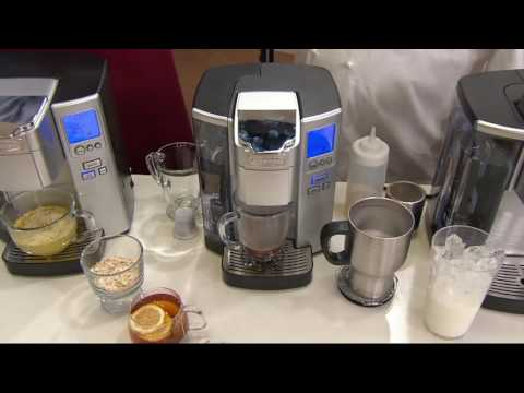 Cuisinart SS10 Single-Serve Coffee Maker w/Barista Cup & 18 Coffee Pods on QVC