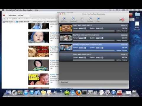 Free Download YouTube Videos as MP4,FLV,3GP,WebM on Mac