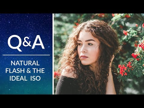 Create Beautiful, Natural Lighting with Flash & the Ideal ISO   Phlearn Q&A