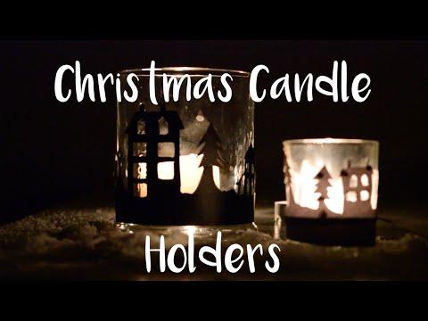 Christmas Candle Holder DIY