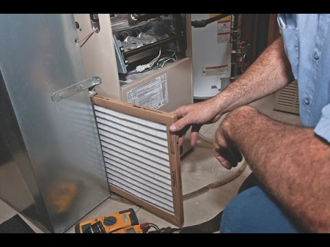How to Change a Furnace or Air Conditioner Filter | GoPro View Inside Furnace