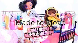 DIY - How to Make: CUSTOM Made to Move KUUKUU HARAJUKU Doll | Christmas Gift Idea