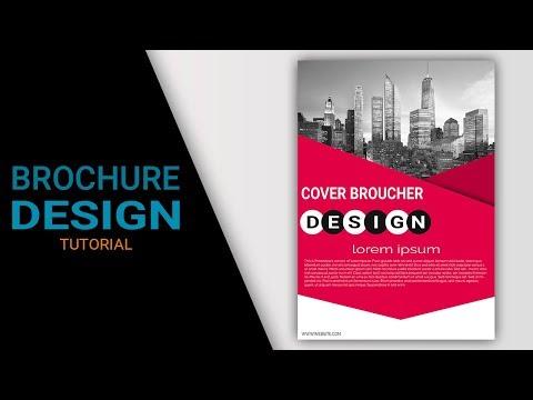 Brochure Design Tutorial In Photoshop cs6 cs3 cs5 CC
