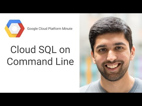 Connect to Google Cloud SQL on the Command Line