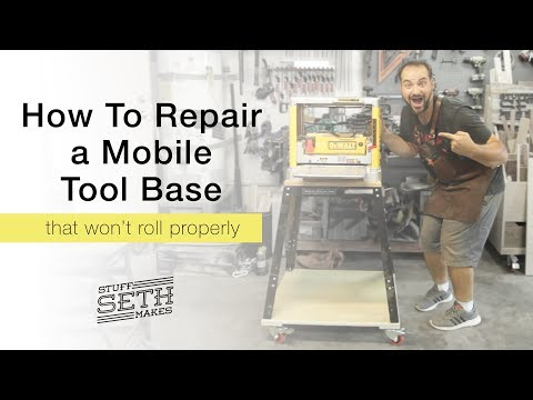 Fun And Silly Planer Stand Mobile Base Repair With Sound FX And Foley