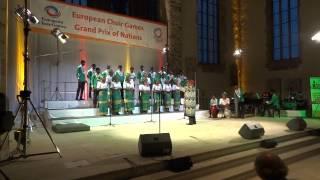 Lagos City Chorale   Halleluyah Chim Lee @ European Choir Games Magdeburg