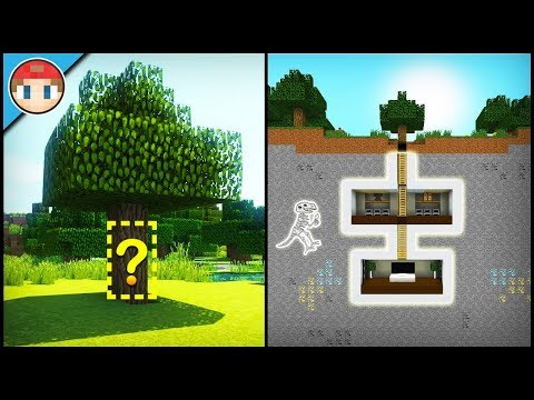 Minecraft: How to Build a Secret Base Tutorial (#3) - Easy Hidden House