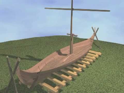 Building a Viking Ship