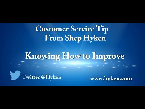 Customer Service Tip: Know How to Improve