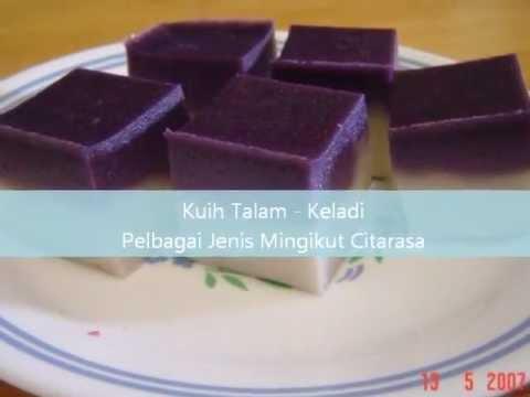 Kuih Kelantan -  Kuih Talam