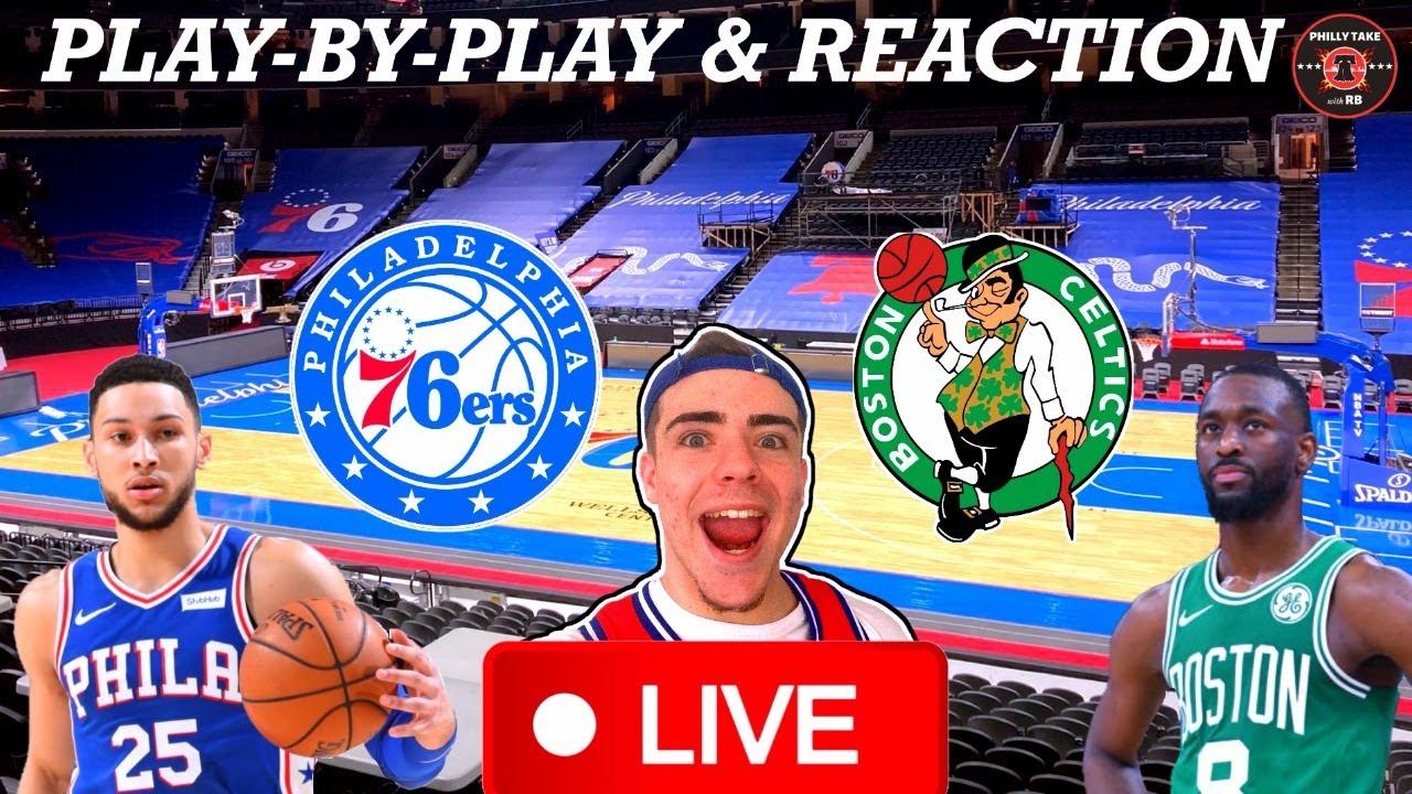 Philadelphia Sixers vs Boston Celtics Live Play-By-Play & Reaction