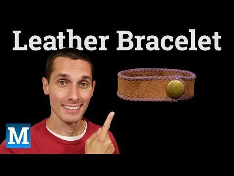 How to Make a Simple Leather Bracelet