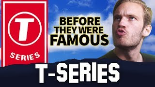 T-SERIES | Before They Were Famous | Bollywood Vs PewDiePie