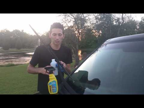 FAST! quick tip for cleaning your wiper blades
