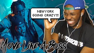 FIVIO FOREIGN, YOUNG M.A - MOVE LIKE A BOSS (Official Video) REACTION!! [NEW YORK GOT THE HEAT!!]