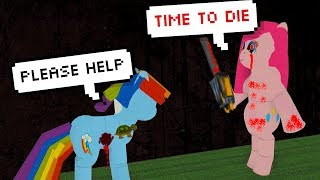 THE CREEPIEST ROBLOX MY LITTLE PONY GAME EVER!