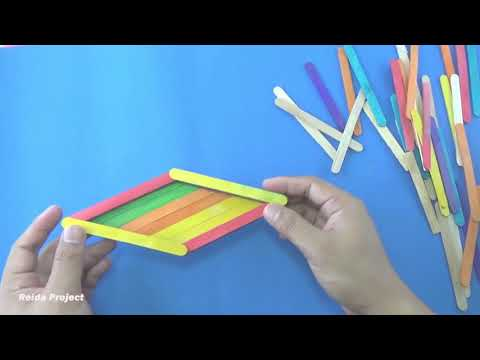 How To Make a Popsicle Sticks Boat
