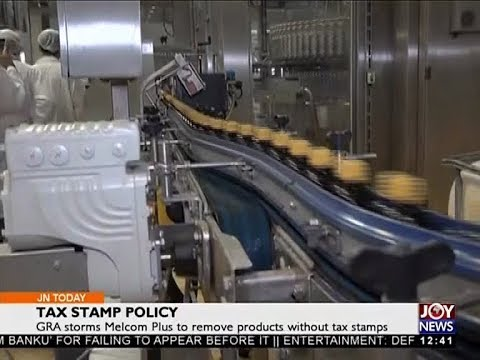 Tax Stamp Policy - Joy Business Today (18-4-18)