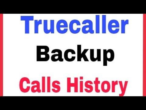 Truecaller    How To Set Backup In Truecaller