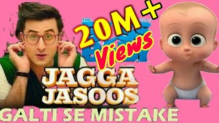 Galti Se Mistake | Animated version| Jagga Jasoos | Ranbir , Katrina | Arijit , Amit | Song