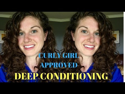 Deep Conditioning Curly Hair - CGM