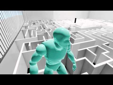 RGB Maze Test Unreal Engine 4