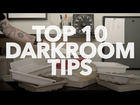 GTV22 :: My TOP 10 Darkroom Tips...So Far.