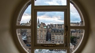 BEST VIEW OF EDINBURGH FROM A HOTEL ROOM WINDOW