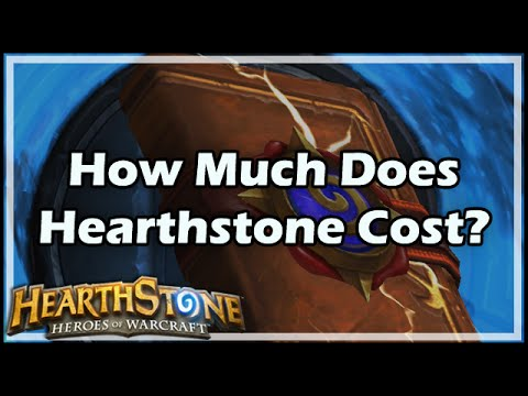 [Hearthstone] How Much Does HS Cost?