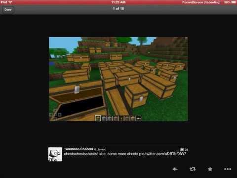 Minecraft PE 0.7.3/0.8.0 Double Chest?