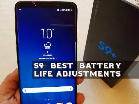 Samsung Galaxy S9+ Best Battery Life Settings