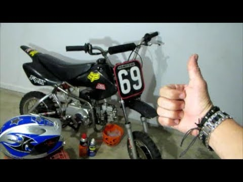 5- TIP'S to make your = PIT BIKE go FASTER.!!!