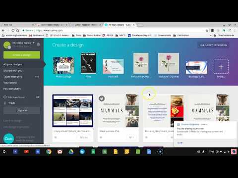 How to make a Canva Storyboard Part 1