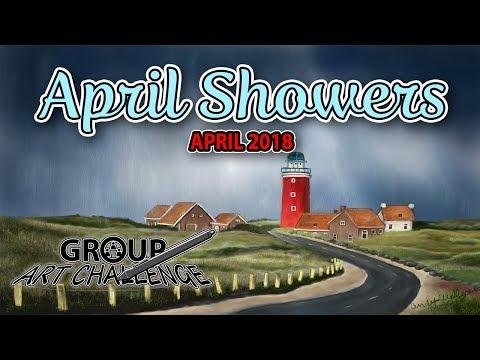 APRIL SHOWERS - April 2018 Group Art Challenge Submissions