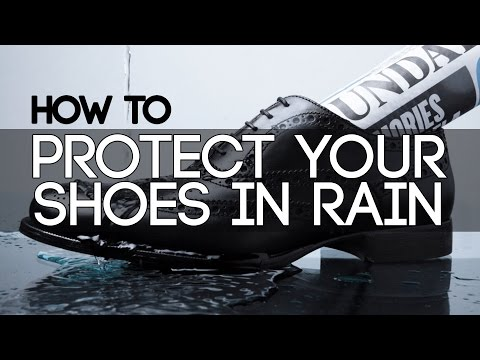 How To PROTECT/DRY LEATHER DRESS SHOES in RAIN | QUICKLY DRY YOUR LEATHER SHOE | Mayank Bhattacharya