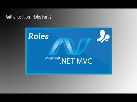 Authentication - MVC Web Application - Create Roles