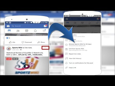 Facebook New Update Now Temporary Stop Seeing Posts of Facebook Friends, Pages in Android 2018