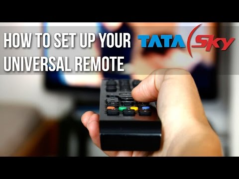 How to set up your Tata Sky Universal Remote