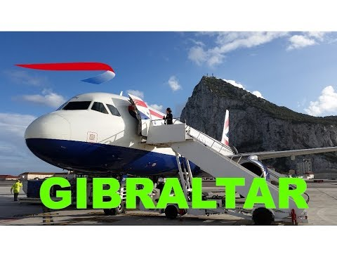 GIBRALTAR'S EXTREME AIRPORT. Flight review from London Heathrow with British Airways