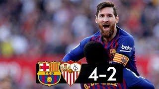 Sevilla vs Barcelona 2−4 │All Gоals   Hіghlіghts │Hat Trick MESSI