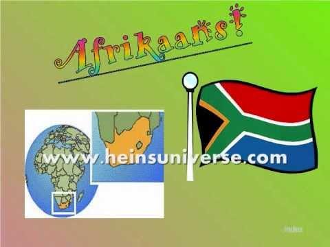 Learn to speak Afrikaans 1 : Basic Phrases
