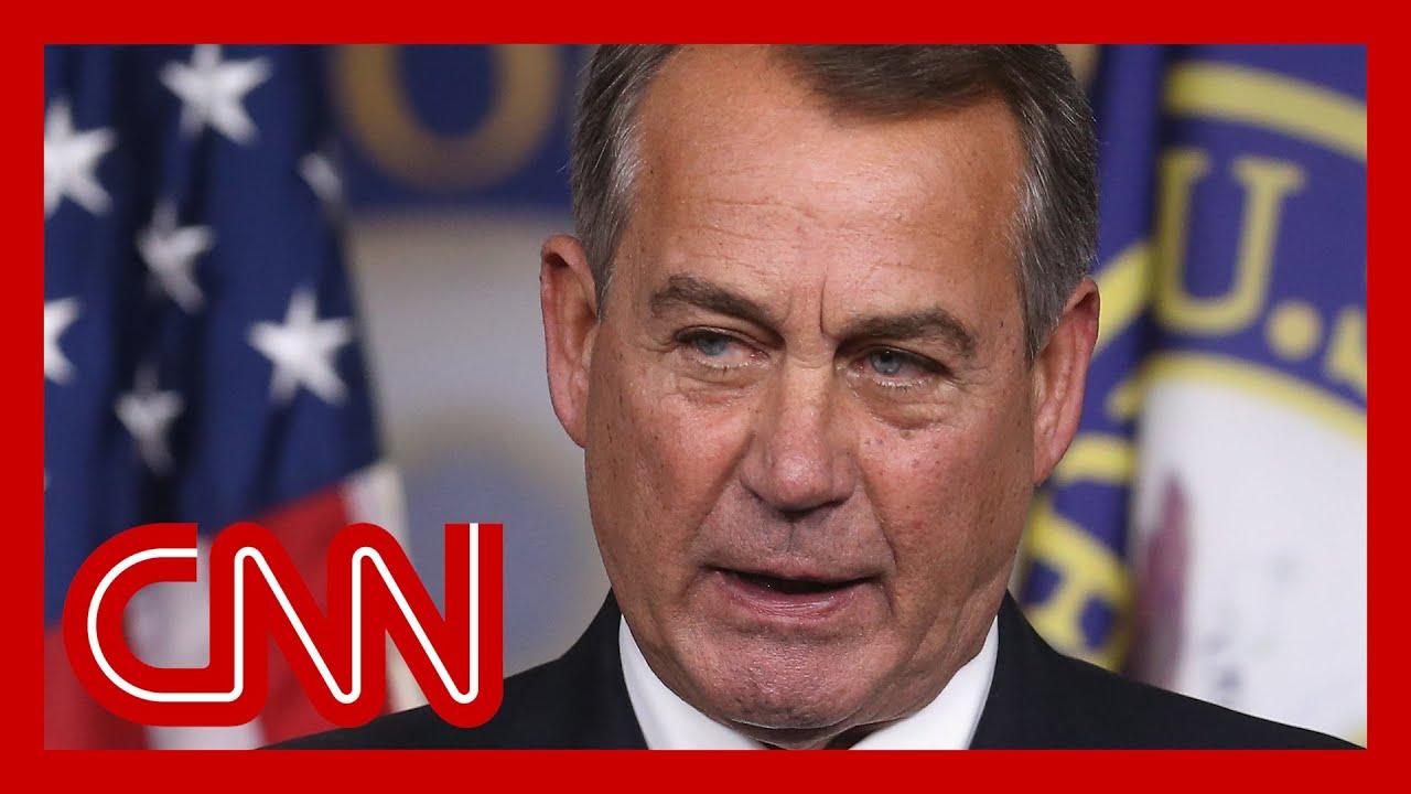 Boehner book: GOP colleague held 10-inch knife to his throat