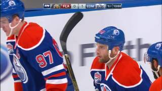 McDavid records 100th career point on Kassian goal