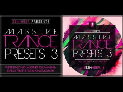 Massive Trance Presets 3 ::: 100 New Trance Presets For NI Massive Synth