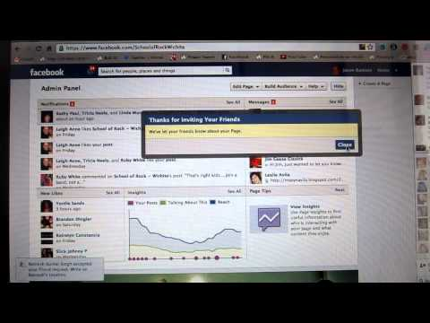 Convert Facebook Friends to Fans of Your Business Page.